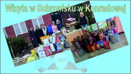 Wizyta w Schronisku w Konradowej
