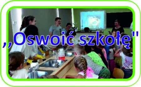 Oswoić szkołę - warsztaty dla przedszkolaków